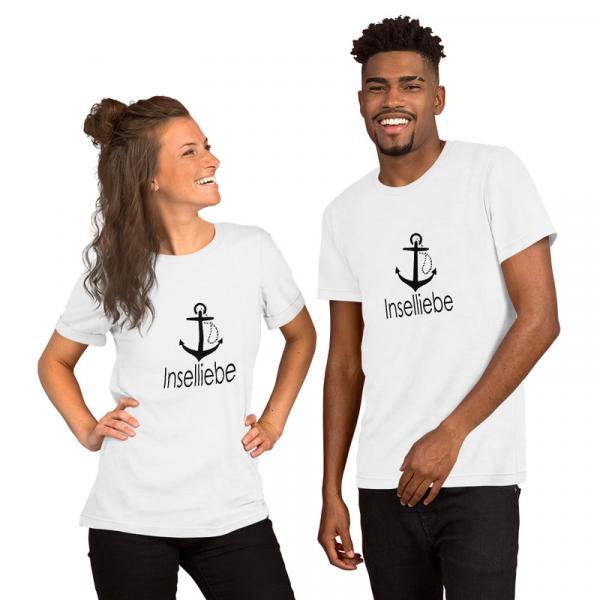 Unisex Premium T-Shirt Inselliebe mit Anker