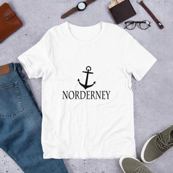 Unisex Premium T-Shirt Norderney mit Anker